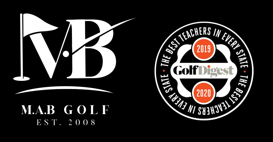 MAB Golf Logo with badge